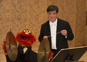 Alan Gilbert, Music Director of the NY Philharmonic with Alan Gilbert, Music Director of the NY Philharmonic with Sesame Street, People in Your Neighborhood